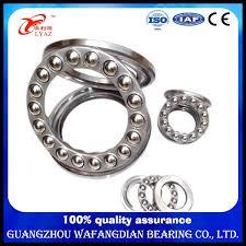 Ball Size Chart Hot Item Wholesale Plastic Thrust Bearing Size Chart Axial Bearing 51011 Thrust Ball Bearing 51118