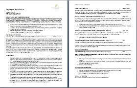 2 Page Resume Format Example Two Samples Equipped Like Inmyownview Com