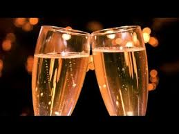 making a toast champagne glasses sound effect