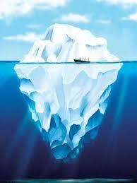 Бизнес как айсберг - на поверхности только малая часть