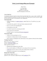 Entry Level Data Analyst Cover Letter Data Analyst Cover Letter