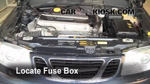 replace a fuse 1999 2009 saab 9 5 Saab 95 Fuse Box Layout Jeep Wrangler Fuse Box