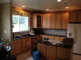 kitchen paint colors with honey oak cabinets awesome countertops with white appliances and oak cabinets pictures