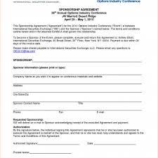sponsorship agreement sports sponsorship agreement athlete sponsorship contract