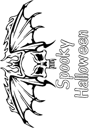 Small Picture Monster Coloring Pages Scary Halloween Coloring Pages Fun Coloring