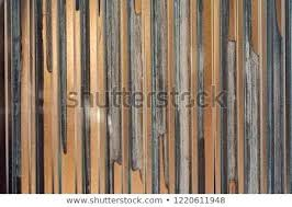 corrugated metal fence on construction site urban details and backgrounds wood framed plans