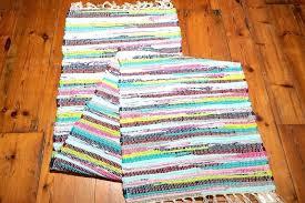 rag rug runner patterns