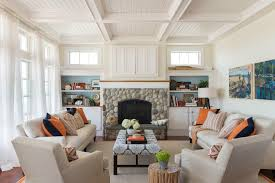 coastal chic furniture. Coastal Chic Decor Living Room Beach Style With Home Built-in Storage Furniture 0