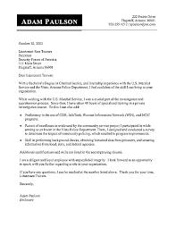 Sample Attorney Cover Letter Legal Criminal Justice Portrait For
