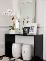 Modern Black Console Table Foter