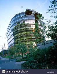 contemporary office building. The London Ark Contemporary Office Building By Ralph Erskine Architects 1992 At Dusk W6 England