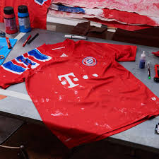 A number of german legends have donned the munich shirt, most notably: Historic Bayern Kit Brought Back To Life For Human Race Campaign