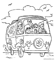 Small Picture scooby doo coloring pages print for kids Coloring Draw
