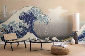 Great Wave' by Hokusai Wallpaper Mural ...