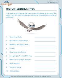 Four Kinds Of Sentences Worksheet Free Worksheets Library ...