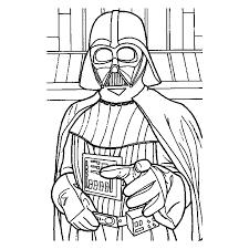 Kleurplaten Star Wars Darth Vader