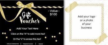Gift Certificate Voucher Template Gift Vouchers 4