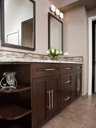 Dark Bathroom Cabinets Bathroom Vanity Colors And Finishes Hgtv