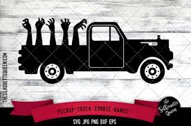 .vector svg designs vinyl cut vinyl files silhouette vector circle frames cut monogram frame more design resources by lerastudio. Pickup Truck Zombie Hand Graphic By Thesilhouettequeenshop Creative Fabrica