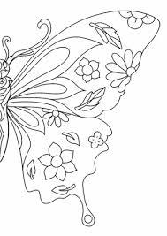 Disegno Di Farfalla Con Le Ali Della Libertà Da Colorare Disegni