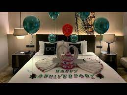 anniversary room decoration ideas at