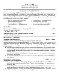 Military To Civilian Resume Sample Resume