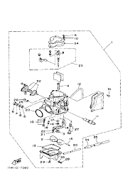 1987 yamaha moto 4 350 yfm350ert carburetor parts best oem basic electrical schematic diagrams wiring diagram