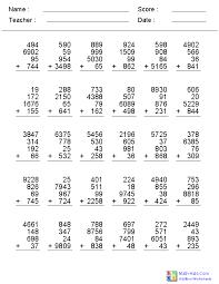 Addition Worksheets Grade 2 Pdf Worksheets for all | Download and ...