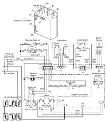 36 volt e z go and it stopped running blown fuse having a schematic graphic