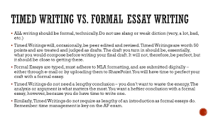 ap english 11 ms meyer  all writing should be formal 2