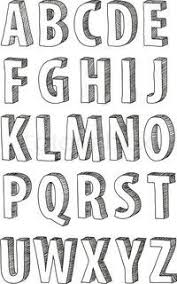 d87da081d914aa d2d580b345 doodle alphabet hand lettering alphabet