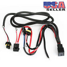 fog light wiring harness ebay Wiring Harness Conversion Kits 9005 9006 relay wiring harness for hid conversion kit, add on fog light, engine wiring harness conversion kits