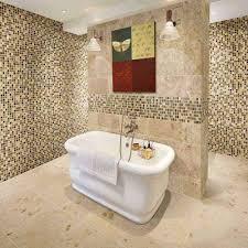 mosaic bathroom tiles. Nazzano Gold Mix Mosaic Wall Tiles - Image 1 Bathroom