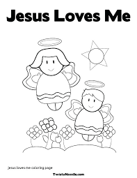 Jesus Loves Me Coloring Page Loves Me Coloring Page Best The Good