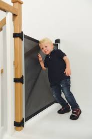 the top retractable baby gates for stairs  baby gate guru