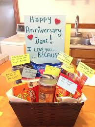 1 year anniversary gifts for him ideas