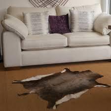 springbok deer hide rug