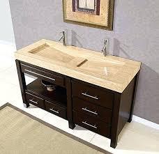 double trough sink vanity double trough sink two faucet trough bathroom sink
