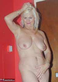 Mature nude platinum blondes