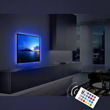 tv accent lighting. amazoncom bias lighting for tvderlson usb powered led strip light ambient backlights kit hometheater furniture multicolor rgb tv accent 4