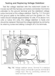 gauges indicators if the 10v voltage stabilizer is found to be faulty here is where to buy a new one made by fairchild semiconductor vw part 171919803