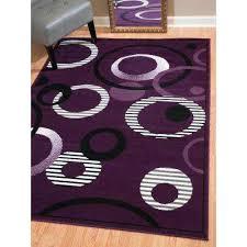indoor area rug hip hop lilac 8 ft x 11 ft indoor area rug