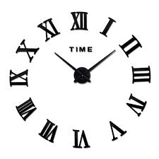 3d acrylic modern wall clock