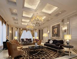 Luxurious Living Room Designs Luxury Interior Design Super Luxury Villa Living Room Interior