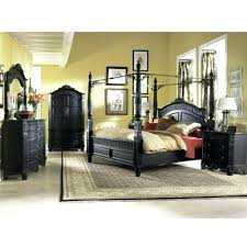 Black Canopy Bedroom Sets Queen Baystorm Set Cheap Key Town Bed Home ...