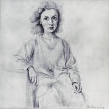 willem de kooning portrait of elaine de kooning