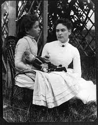 the miracle worker by william gibson essay quotes describing  photograph of helen keller at age 8 her tutor anne sullivan on vacation in brewster