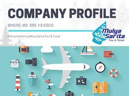 travel profile company profile mulya sarita tour travel