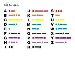 E Is For Explore Morse Code Practice Spelling Words With