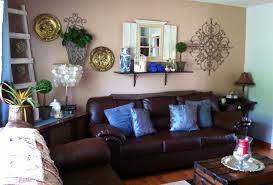 ... Lofty Design 14 Brown And Turquoise Living Room Ideas ...